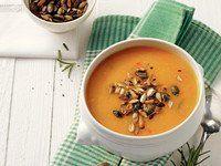 Mit Ingwer und Chili: Das Rezept für die beste Kürbissuppe