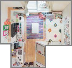 8 Beautiful Home Decor Wall hanging Ideas ! Small Apartment Interior, Apartment Design, Home Living Room, Interior Design Living Room, Living Room Designs, Small Room Bedroom, Room Decor Bedroom, Korean Apartment, Deco Studio