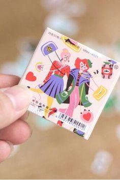 Lovely PVC Label Sticker Set - Girl Closet