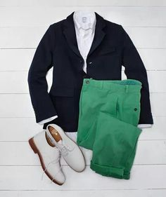 Brooks Brothers...great look for the yacht.