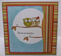 Designed by Diane using Dinkies 'Owl Branch'