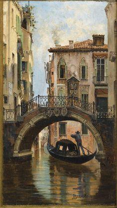 Antonietta Brandeis | Venice painting