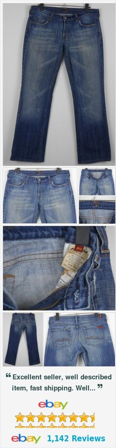 Women's 7 For All Mankind Bootcut Jeans Size 30 USA Measures 33 x 31 Med Wash http://www.ebay.com/itm/Womens-7-For-All-Mankind-Bootcut-Jeans-Size-30-USA-Measures-33-x-31-Med-Wash-/282033050411?ssPageName=STRK:MESE:IT