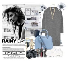 """""""•Rainy Day,SportyChic•"""" by freewingsoul ❤ liked on Polyvore featuring Acne Studios, Marc by Marc Jacobs, Michael Kors, Vince Camuto, Retrò, Eos, NIKE and country"""
