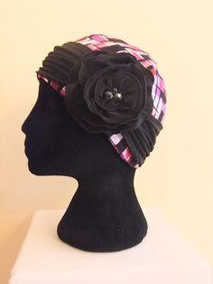 Free pattern for chemo hat , free chemo cap pattern, Snip-Rip-Hooray