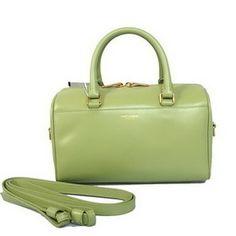 fc73dc967354b7 Wholesale Réplique Duffle Bag Yves Saint Laurent classique Y10 vert Light -  €242.45   réplique sac a main, sac a main pas cher, sac de marque   sac ysl