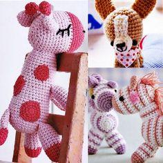 croceted animals | Crochet amigurumi pattern crochet animal zebra by eightnana review ...
