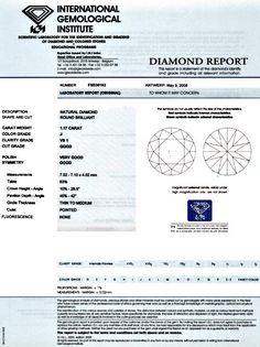 Foto 9, Diamant 1,17 VS1 Crystal Brillant IGI-Gutachten Diamond, D5937