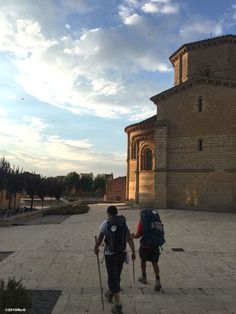 Leaving Fromista #Camino 2015 july McG - day 19