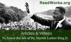 Dr. Martin Luther King Jr. Articles & Videos | ReadWorks.org | The Solution to Reading Comprehension