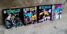 Covers of italian comics Tex Willer Bonelli Art by AuroraAndArt