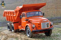 Volvo Volvo Cars, Volvo Trucks, Cool Trucks, Big Trucks, Classic Trucks, Classic Cars, Old Lorries, Mercedes, Dump Truck