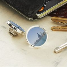 The Chicago Skyline Pin - photography gifts diy custom unique special