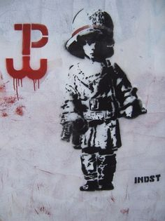 Powstanie Warszwaskie Stencil Art, Stencils, Poland Hetalia, Poland Ww2, Warsaw Uprising, Poland History, Visit Poland, Wwii, Historia