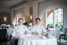 Enjoy classical French excellence under the guidance of Michelin-starred Chefs - Chris and Jeff Galvin.