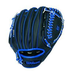 Wilson Sport Gift Kids Boys BaseBall Glove Right Hand Throw Black Blue Espn Baseball, Cleveland Indians Baseball, Baseball Helmet, Chicago Cubs Baseball, Baseball Socks, Tigers Baseball, Baseball Jerseys, Baseball Tickets, Baseball Players