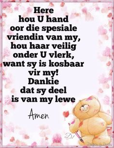 Good Night My Friend, Dear Friend, Friend Friendship, Friendship Quotes, Wisdom Quotes, Bible Quotes, Afrikaanse Quotes, Good Night Blessings, Goeie More