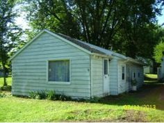 2.25 acres.  Great location! Nice 1 bedroom home, LaVille Schools.  Large detached garage, pole bldg. large enough for a semi, storm shelter.