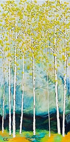 Summer Storm, encaustic landscape by Catharine Clarke | Effusion Art Gallery + Cast Glass Studio, Invermere BC Modern Art, Contemporary Art, Quirky Decor, Cast Glass, Summer Landscape, Encaustic Painting, Canadian Artists, Colorful Paintings, Landscape Paintings