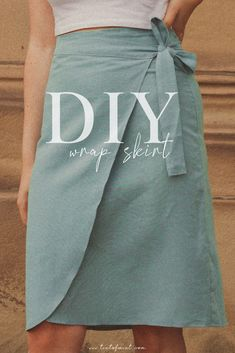 Skirt Patterns Sewing, Clothing Patterns, Skirt Sewing, Pdf Sewing Patterns, Diy Clothing, Sewing Clothes, How To Sew Clothes, Diy Kleidung Upcycling, Creation Couture