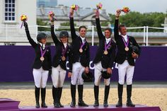 Bronze medal Eventing Team London Olympics 2012