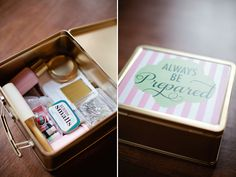 This would be a great emergency kit gift for your adult daughter who maybe just left for college or moved out.