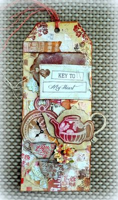 Tag created by Kelly Foster using the Tea with Ginger set.