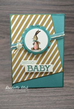 Love that sweet bunny! The Stamping Blok: Just Add Ink #252 - Baby, We've Grown