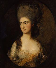 ca. 1780 Anne, Duchess of Cumberland by Thomas Gainsborough (Lady Lever Art Gallery, Liverpool UK) | Grand Ladies | gogm