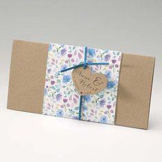 Einladungskarte - Vintage Blue Floral - - sweetwedding - Hochzeitskarten, Druck, Hochzeitsdekoration, Hochzeitsalben, Gastgeschenke, Einladungskarten, Hochzeit, Dekoration, Gästebücher, Berlin, Stammbücher, Tischdekoration, Karten, Papiere