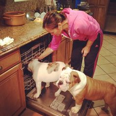 No worries Ma! We'll do the dishes tonight!