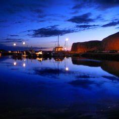 Stykkisholmur harbor , Iceland