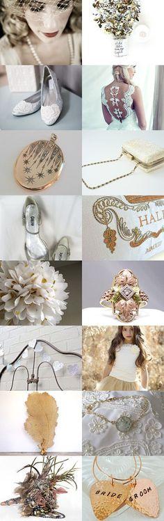Metallic Wedding Ideas by Marilyn on Etsy--Pinned with TreasuryPin.com