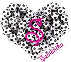 Girls Soccer Bat Mitzvah Logo Logos by Cutie Patootie Creations www.cutiepatootiecreations.com