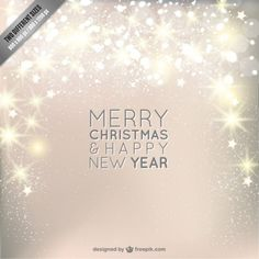 Christmas background with sparkle Free Vector Winter Background, Christmas Background, Background Images, Merry Christmas Vector, Merry Christmas And Happy New Year, Christmas 2014, Xmas, Holiday, Happy New Year Design