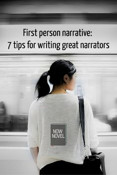 First person narrative is difficult to master because you need to let the reader see through your narrator's eyes. Learn how to write in the first person.