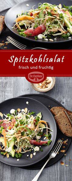 Spitzkohlsalat: Ein fruchtiger Spitzkohlsalat
