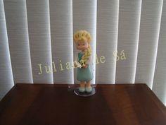 Topo de bolo - Elsa (Frozen) Ateliê Juliana de Sá e-mail: julianah.sa@hotmail.com