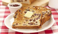 cinnamon raisin bread in bread maker