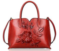 Pijushi Embossed Flower Leather Handbag Genuine Leather T... https://www.amazon.com/dp/B01MDUFPEQ/ref=cm_sw_r_pi_dp_x_xLhczbJX88BDW