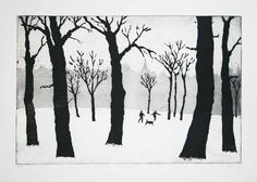 Junction Art Gallery  - Tim Stewart 'A Walk in the Snow'
