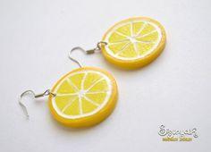 Lemon Earrings by sisunyak on piiqshop!