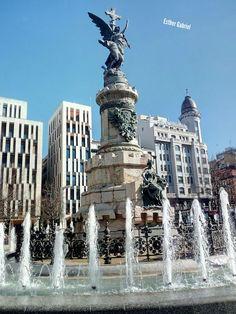 Plaza de España en Zaragoza, foto de Esther Gabriel