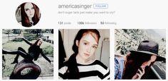 America Singer Instagram
