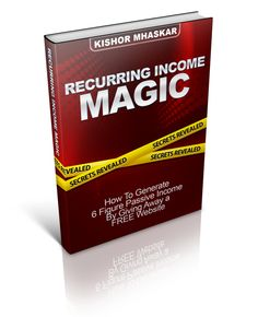 Get this guide for Free : Recurring Income Magic