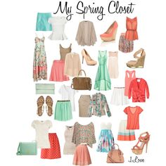 Essential Spring Things for My Closet - No Pants Required :)