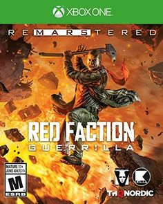 THQ Nordic - Red Faction Guerrilla Remastered Xbox One Xbox One Games, Ps4 Games, Games Consoles, Playstation Games, Red Faction, Earth Defence Force, Date And Switch, Game Environment, New Video Games