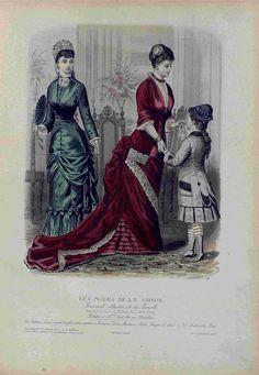 Les Modes de la Saison 1879