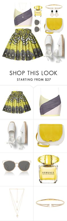 """""""To Make You Smile"""" by freida-adams ❤ liked on Polyvore featuring Christian Dior, Versace, Natalie B, Nadri, Marni, topsets, polyvorecommunity, topset, polyvorefashion and polyvoreset"""