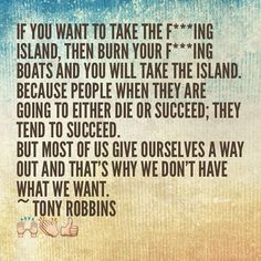 If you want to take the fing island then burn your fing boats and you will take…